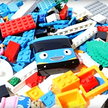 Amazon.com: New Tayo Little Bus Toys Compatible With LEGO Block ...