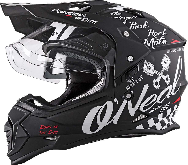 Oneal Sierra II Helmet Torment Black//White Casco