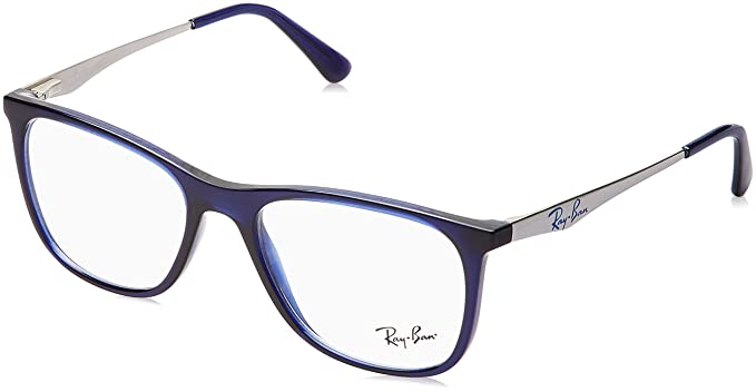 Ray-Ban Full Rim Square Men\'s Spectacle Frame - (0RX7115II800753 53 ...