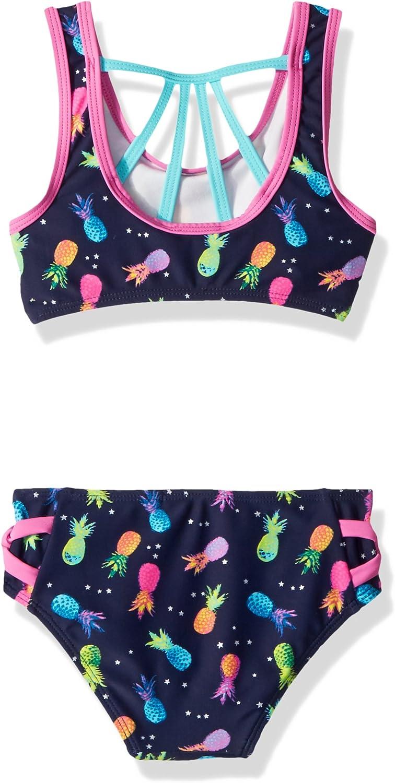 Jessica Simpson Girls 2-Piece Bikini Swimsuit Set
