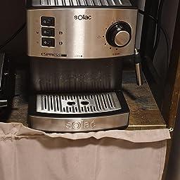 Solac CE4552 Squissita Touch - Cafetera espresso, 1.5 l, 1000 W ...