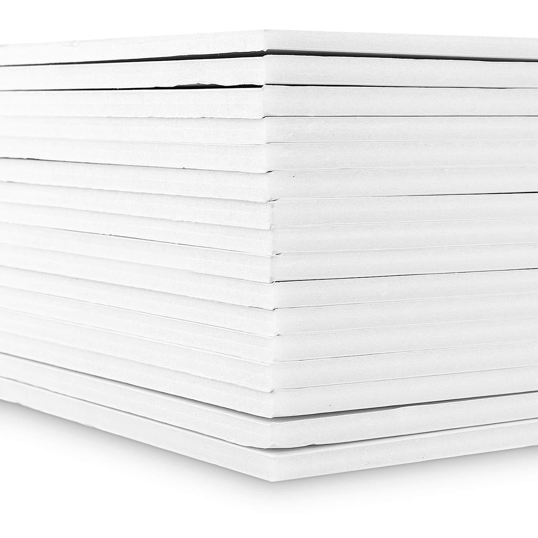 Fotokarton Schaumstoffplatten 210 /× 300 mm Hochzeits-Schilder 5 mm 16 St/ück Styroporplatten wei/ßes Hartpapier au/ßen Starvast A4 Schaumstoffplatte