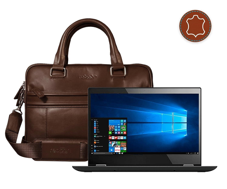 reboon Real de Piel Bolsa de Ordenador portátil en para Lenovo IdeaPad 320 156 Laptop | 17 Pulgadas | portátil Bolso | Hombre/Mujer - Unisex, ...