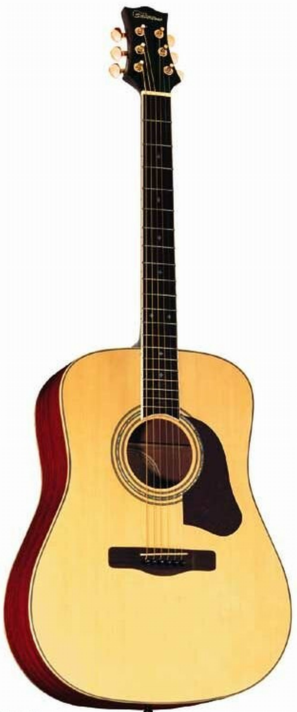 Silvertone SD50N Dreadnought Acoustic Guitar, Natural by Silvertone