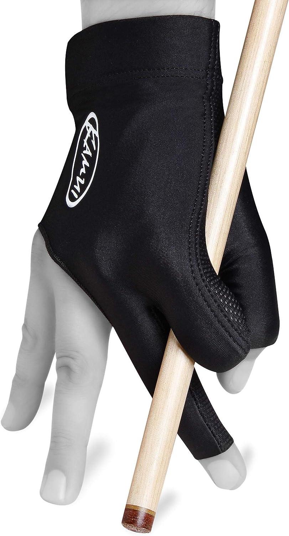 09999 FREE SHIPPING Large Left Hand L Kamui Billiards Pool Glove Black