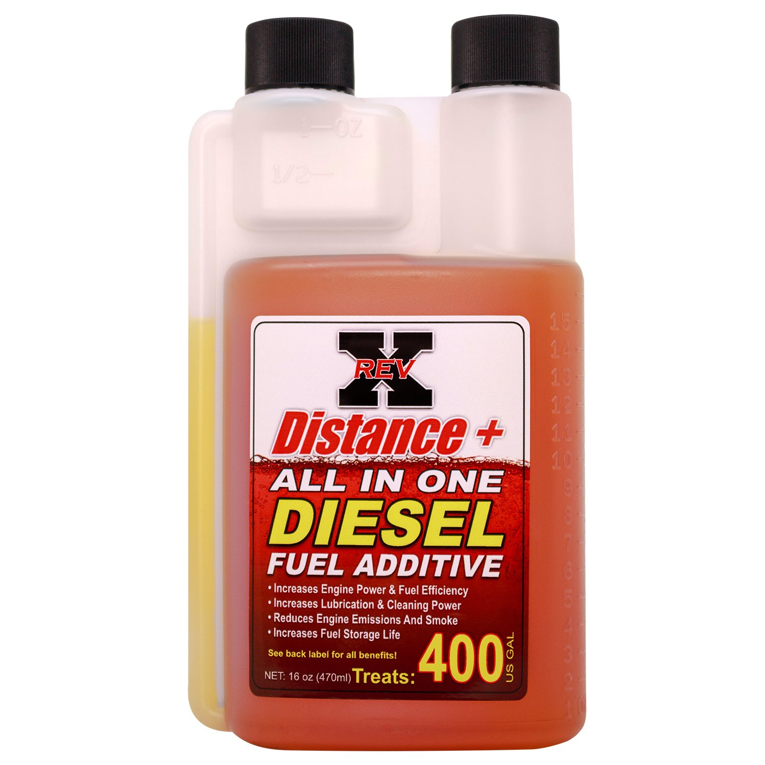 Amazon.com: REV-X Diesel Engine Complete Treatment - Treat 6 gal. of Oil and 400 gal. of Fuel: Automotive