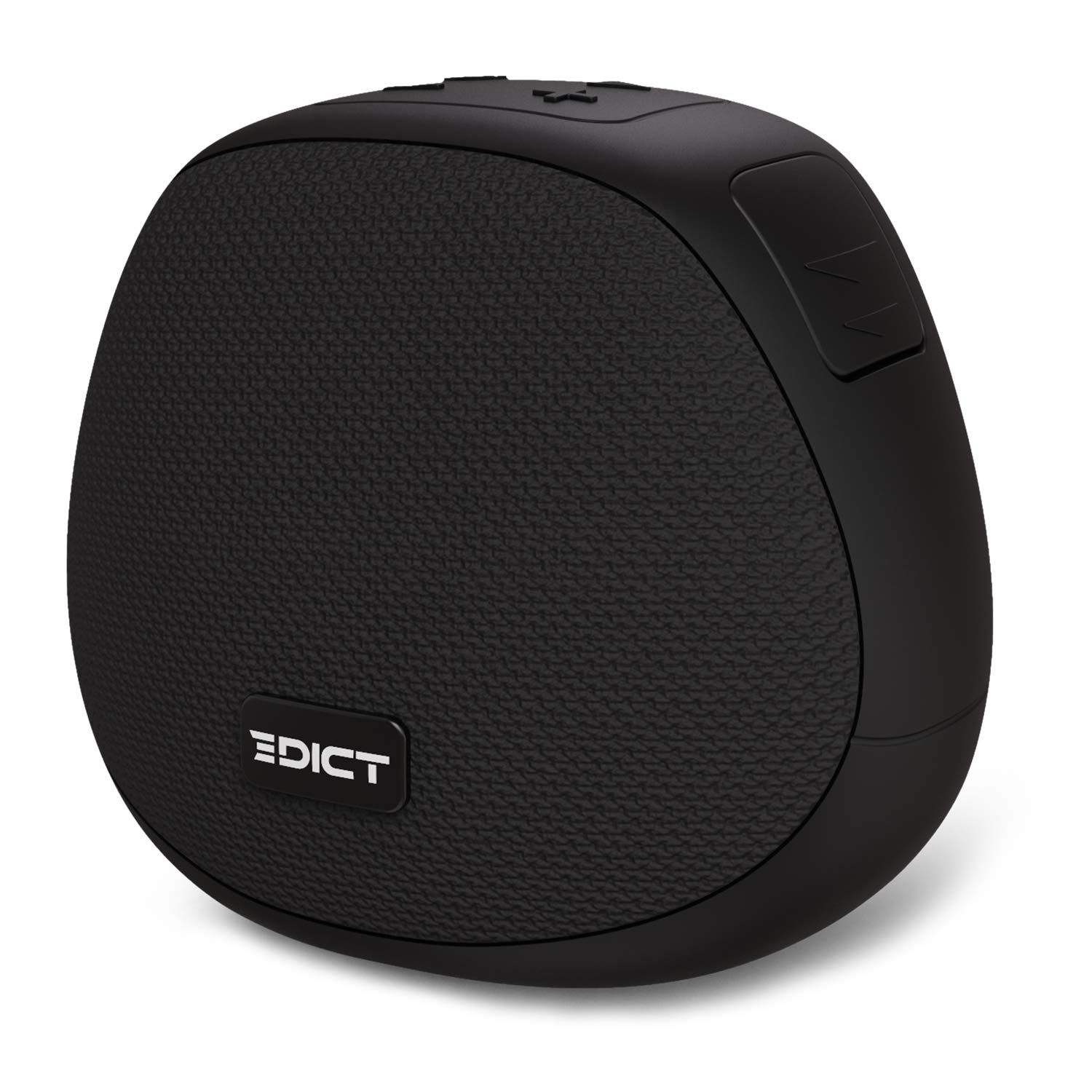 [Apply coupon] EDICT by Boat ESP01 Lightweight Portable Wireless Speaker with 5W Engaging Sound, Bluetooth V5.0, Up to 4H Playback, Built-in Mic, TWS Feature, IPX4 Water Resistance and Carry Strap(Black)