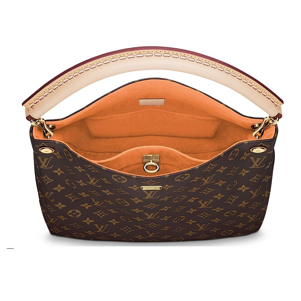 b3b635b178973 Authentic Louis Vuitton Monogram Gaia Shoulder Handbag Article M41726 Epice  Made in France  Handbags  Amazon.com