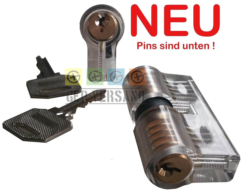 mehrfarbig Deutsch GEO-VERSAND /Übungsschloss Haust/ür 10265
