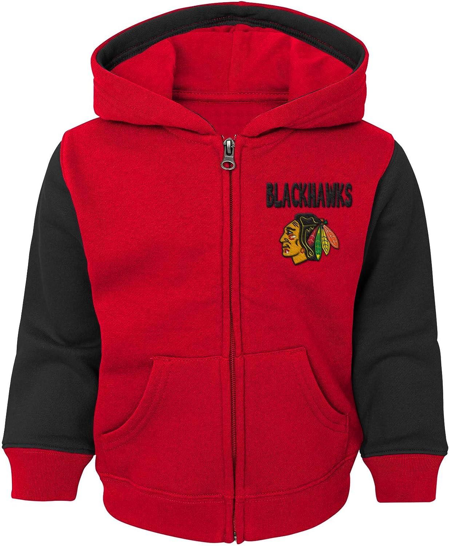 Chicago Blackhawks Toddler Stadium Full Zip Hooded Sweatshirt