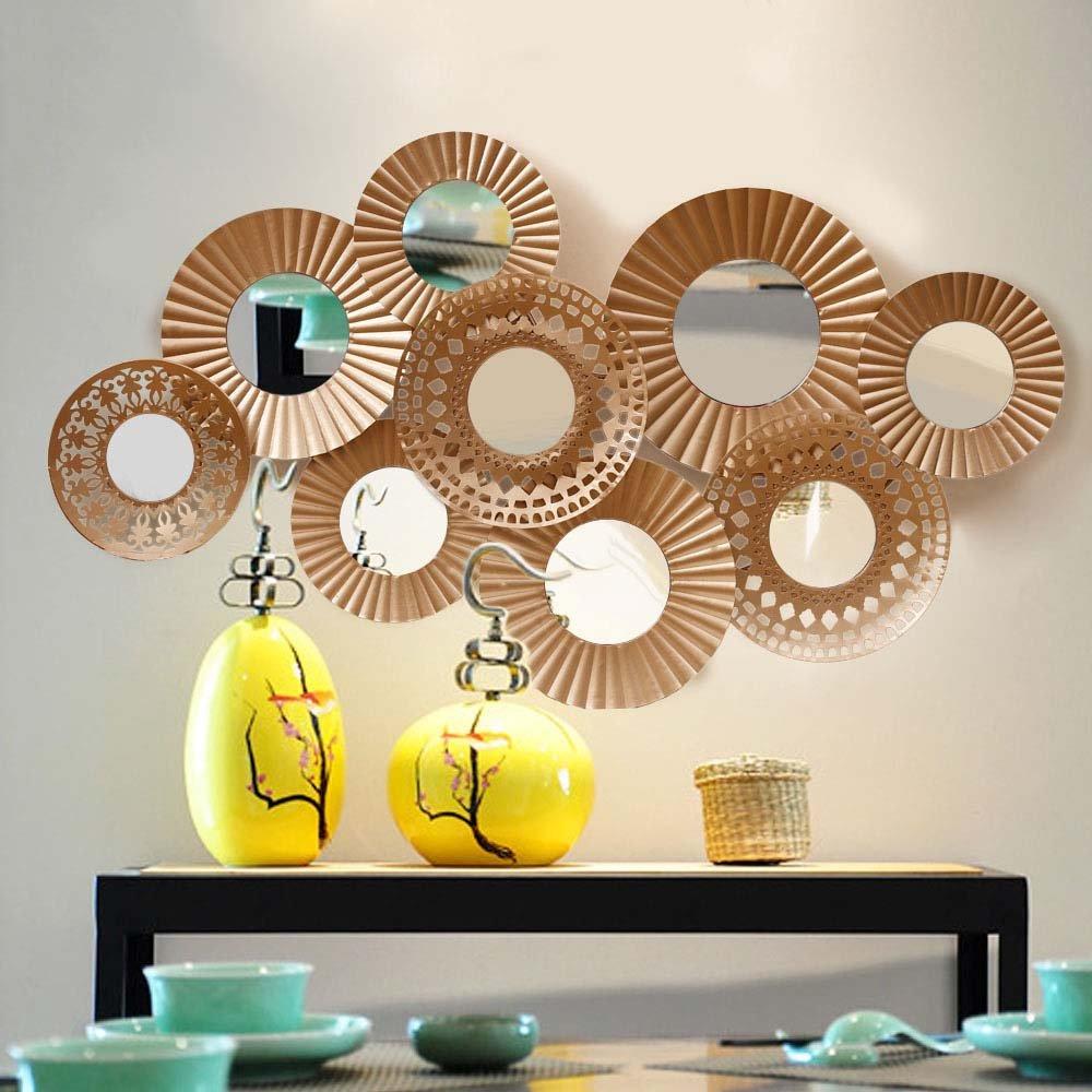 Kreative Art und Weise dreidimensionale kontinentale Eisen-Wand-Dekoration-Wand-Dekorationen Einfache Wand-Dekoration