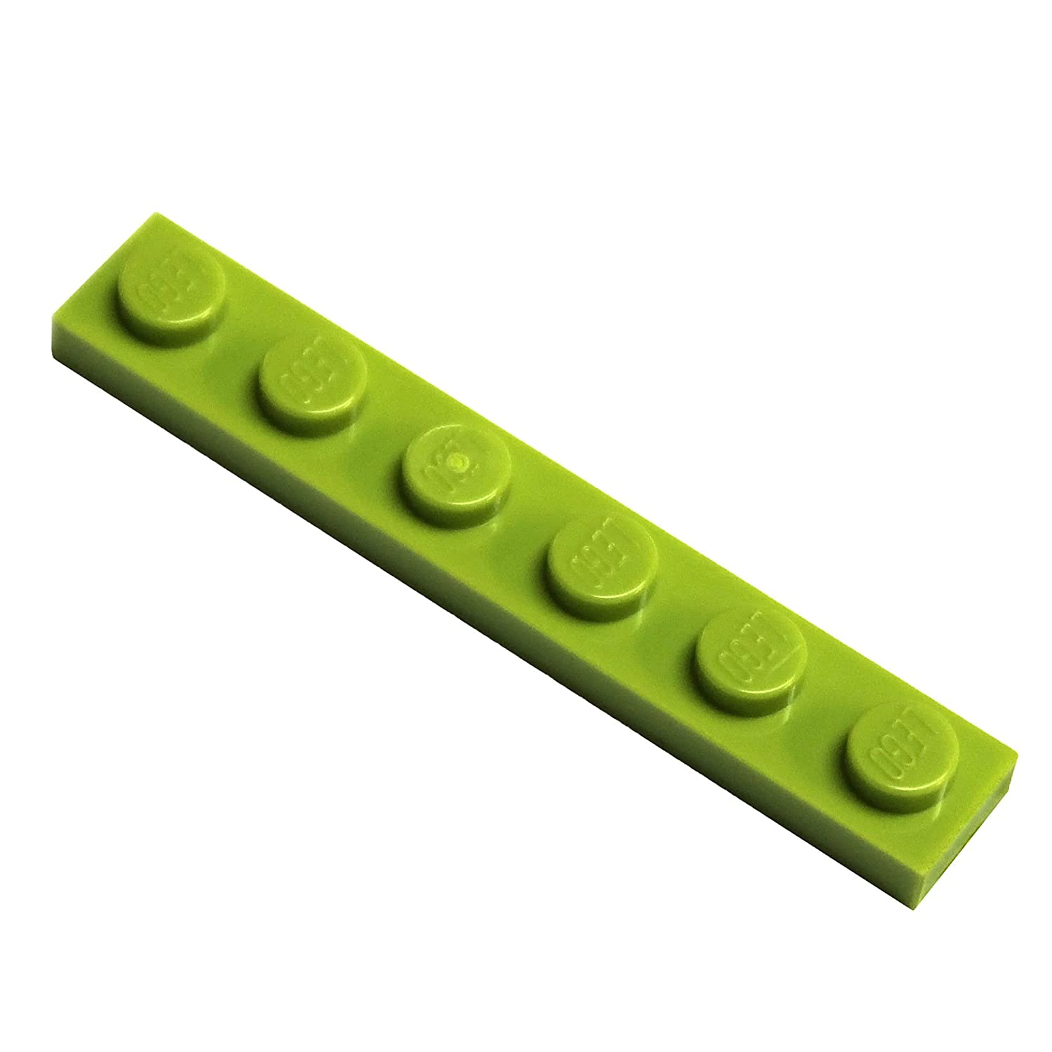 LEGO Parts and Pieces Black 1x6 Plate x50