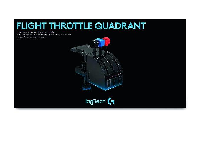 Logitech G Saitek Pro Flight - Cuadrante de aceleración, Color Negro: Logitech: Amazon.es: Informática