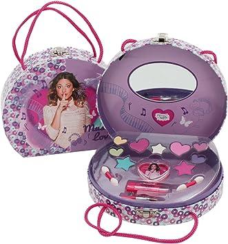 Violetta Disney Maletin cosmeticos maquillaje: Amazon.es: Juguetes y juegos