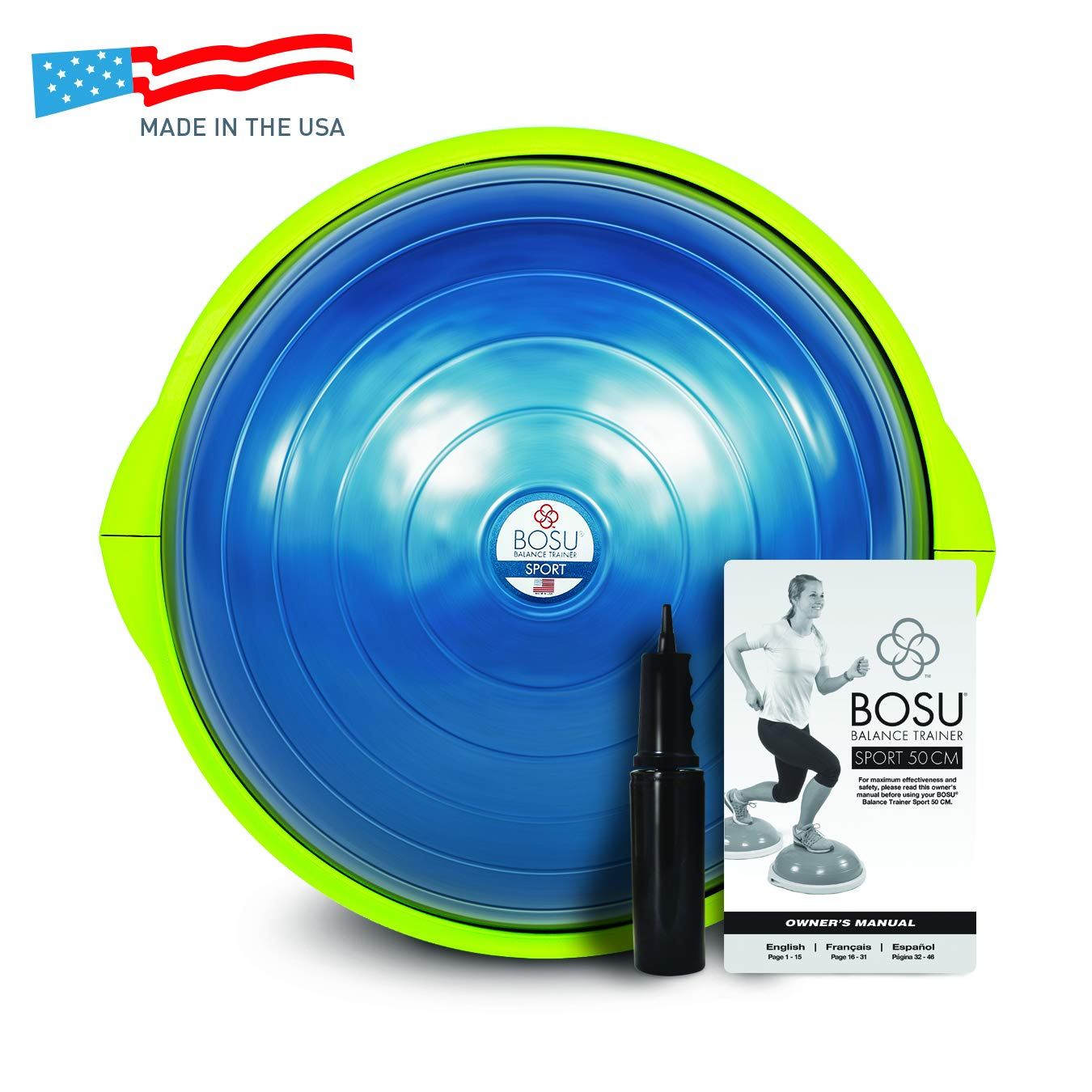 pretty nice 4460a a9b39 Buy Bosu Sport Balance Trainer, Blue Black Online at Low Prices in India -  Amazon.in