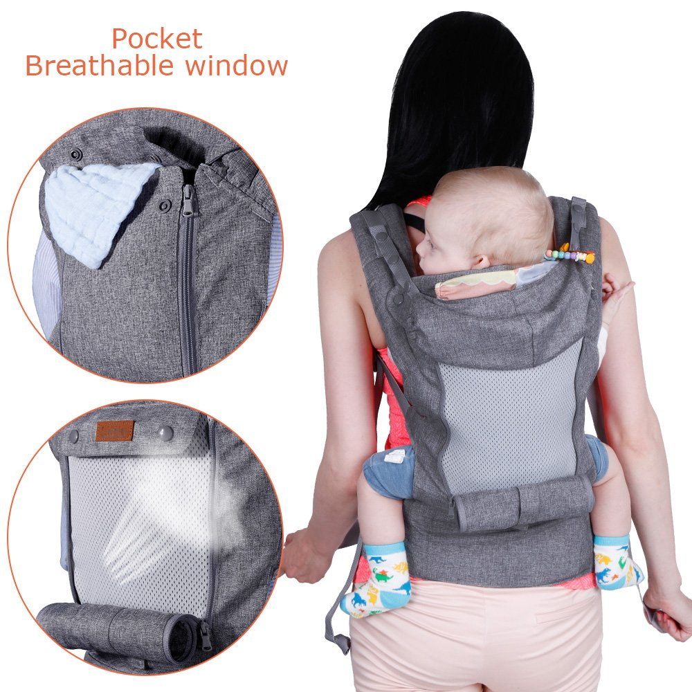 Lictin Baby Carrier Wrap for Newborn Baby Wrap Carriers Front and Back,