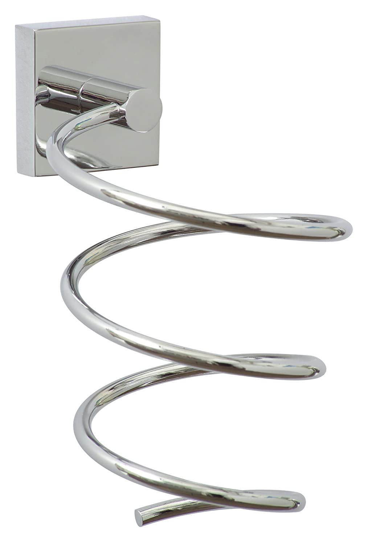 nie wieder bohren EK440 - Porta phon, 10 x 13,5 x 15,5 cm, cromato, include sistema di fissaggio Nie wieder bohren AG