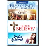 Films of Faith 3-Movie Collection (The Case for Christ / Do You Believe? / I'm Not Ashamed) [DVD]