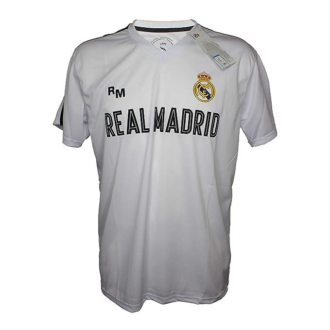 b205a05ec8b Camiseta Attack Infantil Real Madrid Producto Oficial Blanco - Primera  Equipacion (4 Años)