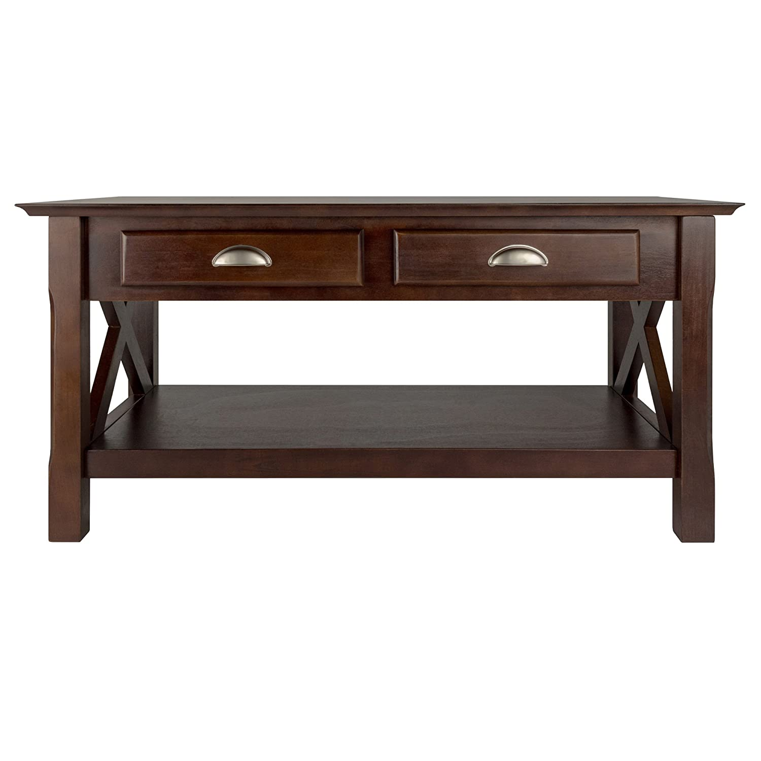 Winsome Wood 40538 Xola Occasional Table Cappuccino Finish