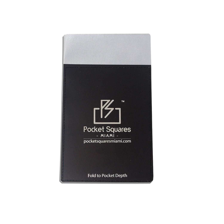 Pocket Squares Miami Mens prefolded pocket square Presidential Collection