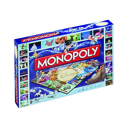 Winning Moves Disney Classic Monopoly Board Game