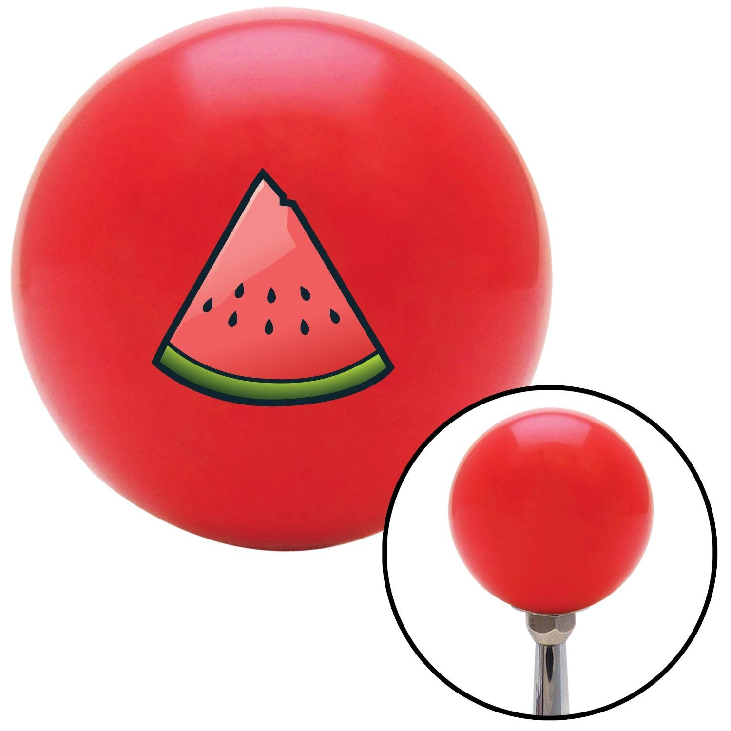 American Shifter 101122 Red Shift Knob with M16 x 1.5 Insert Watermelon