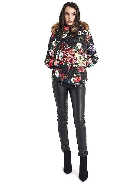nuovo prodotto cb650 65267 Gaudi jeans 821BD35016 Piumino Donna Nero 44: Amazon.it ...
