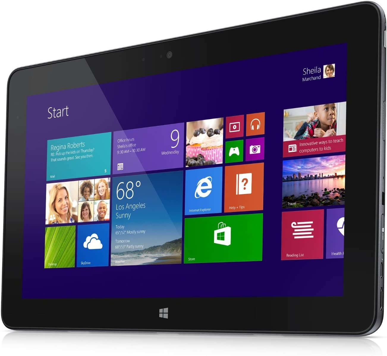 Dell Venue 11 Pro 4th Gen Core i5-4300Y, 8GB RAM, 256GB SSD 11-inch tablet PC, Windows 8.1 Professional
