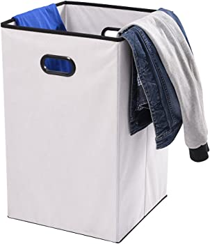 MaidMAX Foldable Nonwoven Cloth Storage Basket w/Dual Handles