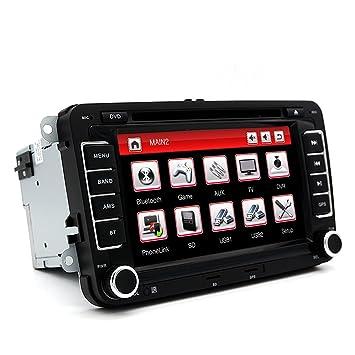 Coche Estéreo - junsun 7 pulgadas Doble Din coche GPS DVD ...