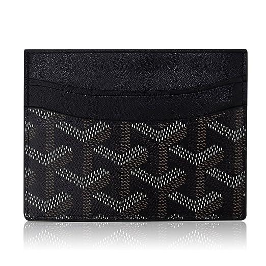 uk availability 276a6 89e6a Fashion Designer Credit Card Holder For Women Genuine Leather Slim  Minimalist Front Pocket Wallet Bag