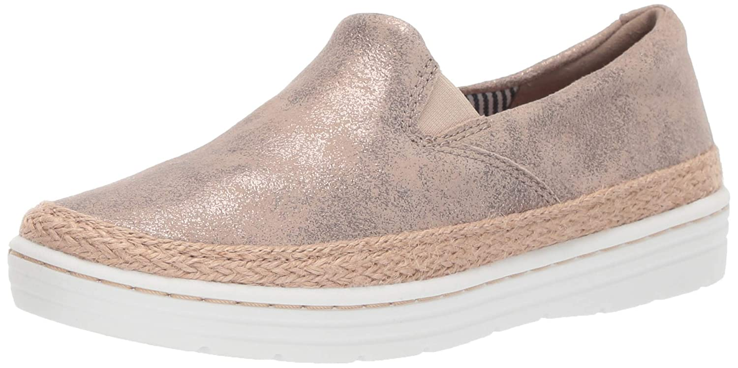 Pewter Suede Clarks Womens Marie Pearl Fashion Sneakers