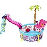 Mattel X9299 Glam Pool - Piscina Barbie