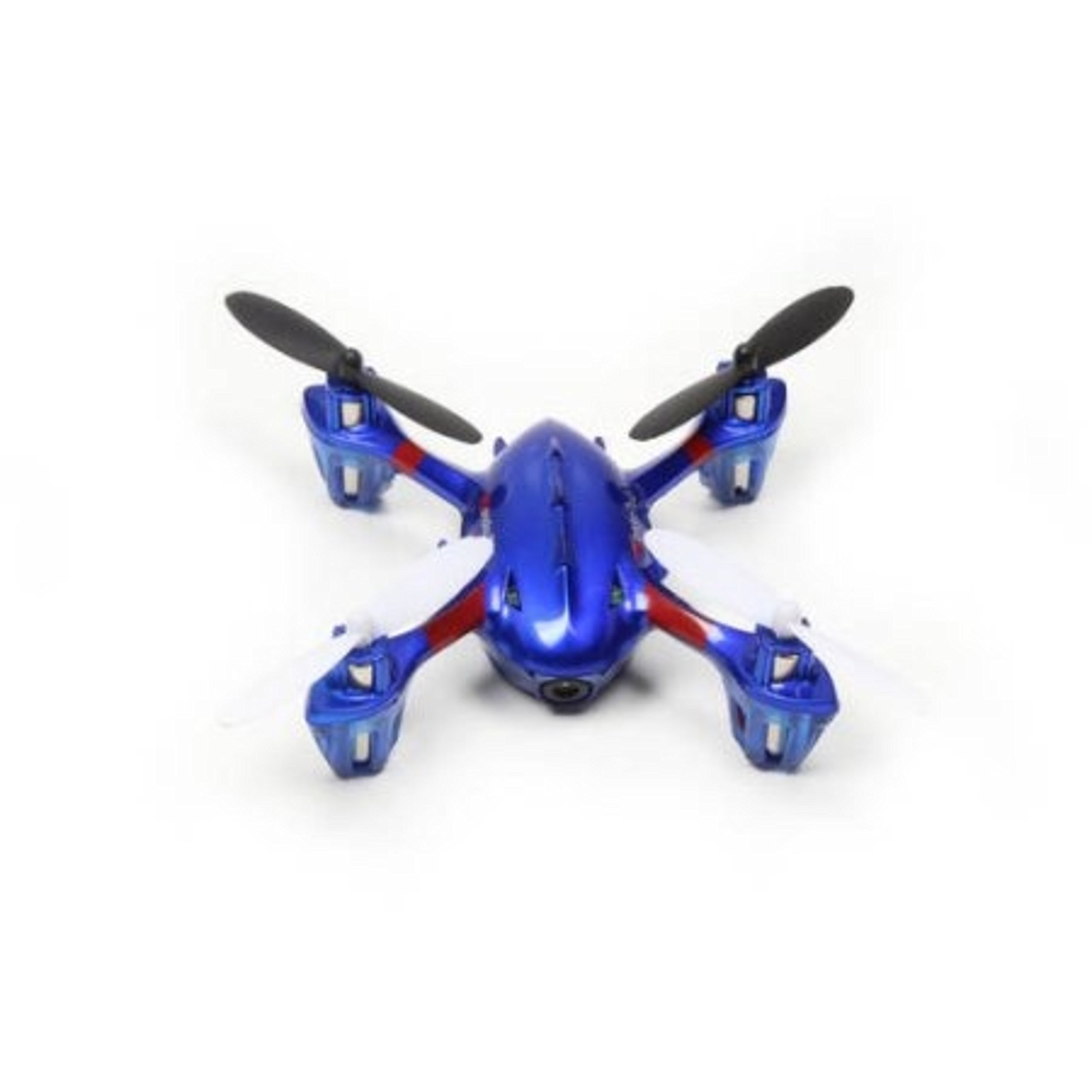 5-Channel 2.4GHz Remote Control Quadcopter Flying Blue Drone with LED Lights by Planes Helicopters & Air