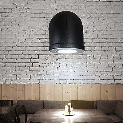 GUOQ Rétro Style Industriel Fer Tube Luminaire Applique Murale Créatif  Vintage Design Couloir Lampe Murale Pour Pour Décoration De Maison ...