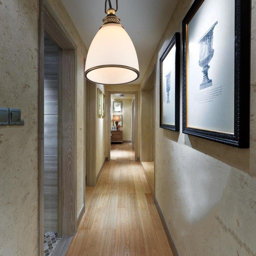 Innenbeleuchtung Eisen Einfache Land Kronleuchter Flur Korridor Restaurant Bar Kronleuchter Erleuchtung (Farbe   A-16  20cm)