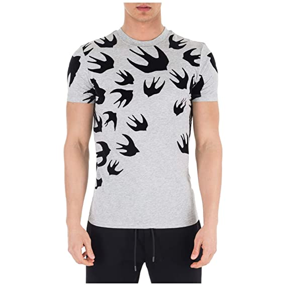 193ade00130a8f McQ Alexander McQueen Men's Short Sleeve t-Shirt Crew Neckline ...