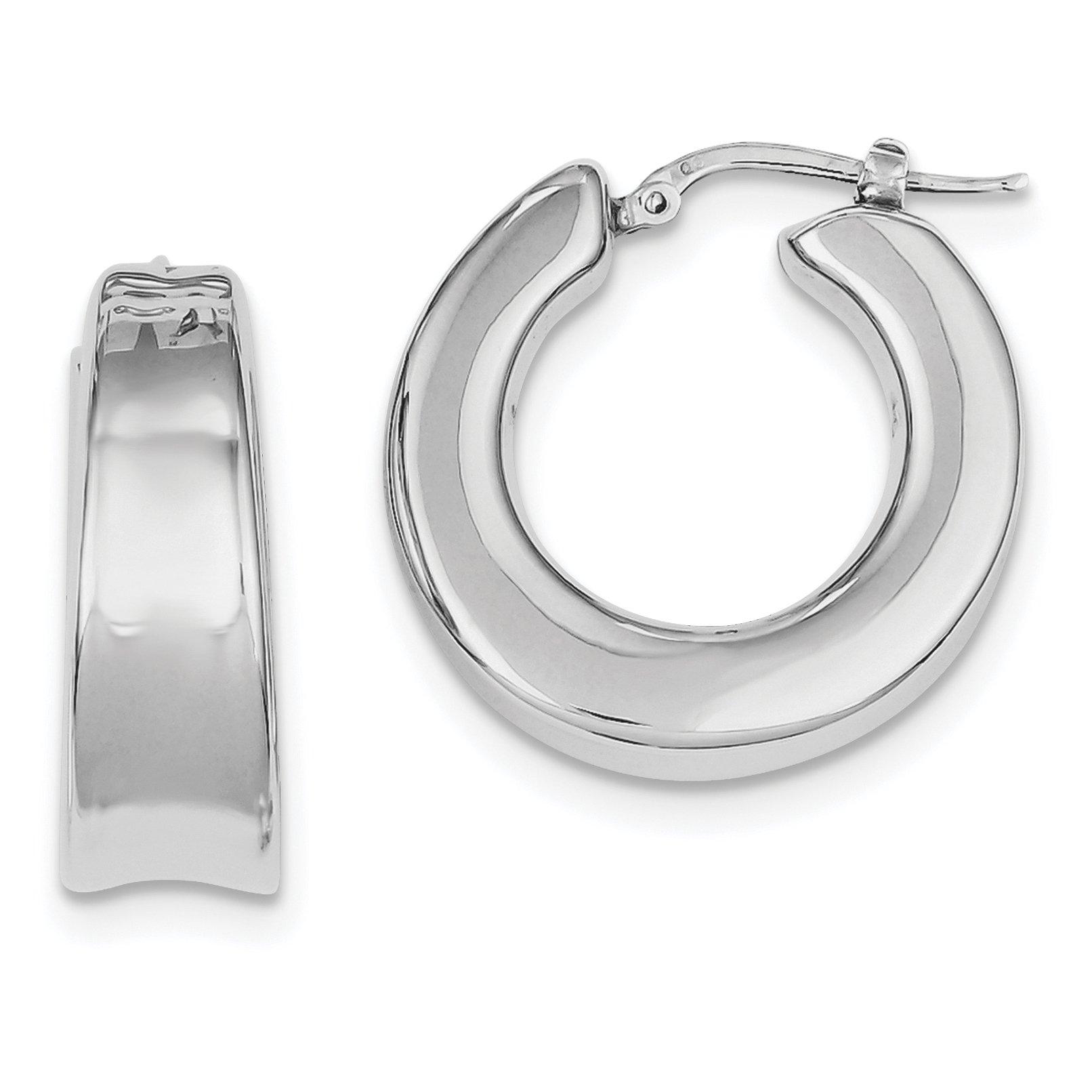 ICE CARATS 925 Sterling Silver Hoop Earrings Ear Hoops Set Fine Jewelry Gift Set For Women Heart
