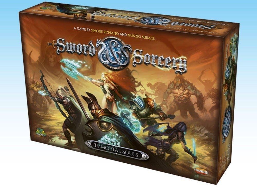 Ares Games Juego de Mesa Sword and Sorcery: Almas inmortales, de ...