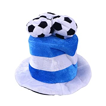 fbcf8fab2ee8ab Argentina Flag Soccer Ball Party Hat Cap 2018 World Cup Football Fan Hat  Cap, Party Hats - Amazon Canada
