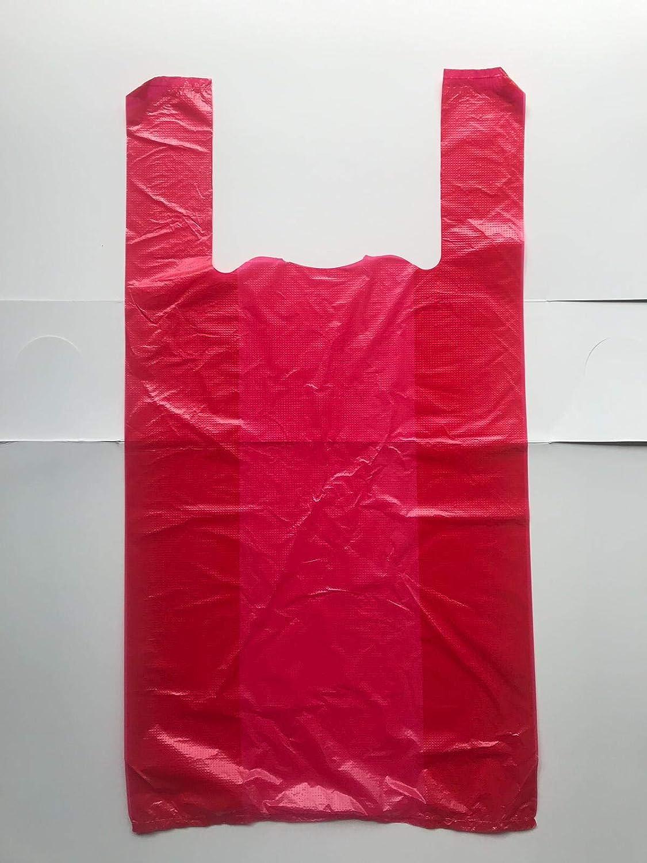 100 bolsas de plástico resistentes de estilo chaleco, color ...
