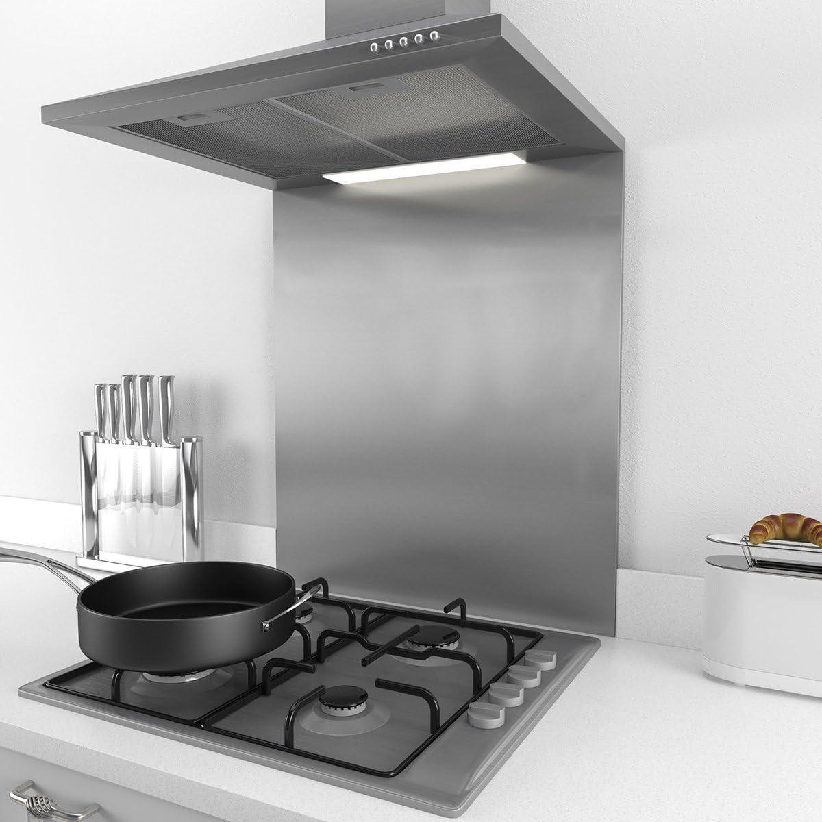 CIARRA Splashback Acero Inoxidable 60 x 75 cm, para Campana Extractora 60 cm: Amazon.es: Grandes electrodomésticos