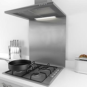 60cm * 75cm Splashback for Cooker Hoods 60cm Stainless Steel And ...