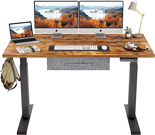 Reviewed: FEZIBO Electric Height Adjustable Standing Desk