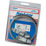 Breeze - 4000 Make-A-Clamp Stainless Steel Hose Clamp System, 1 Kit Contains: 8-1/2 ft Band, 3 Adjustable Fasteners, 1…