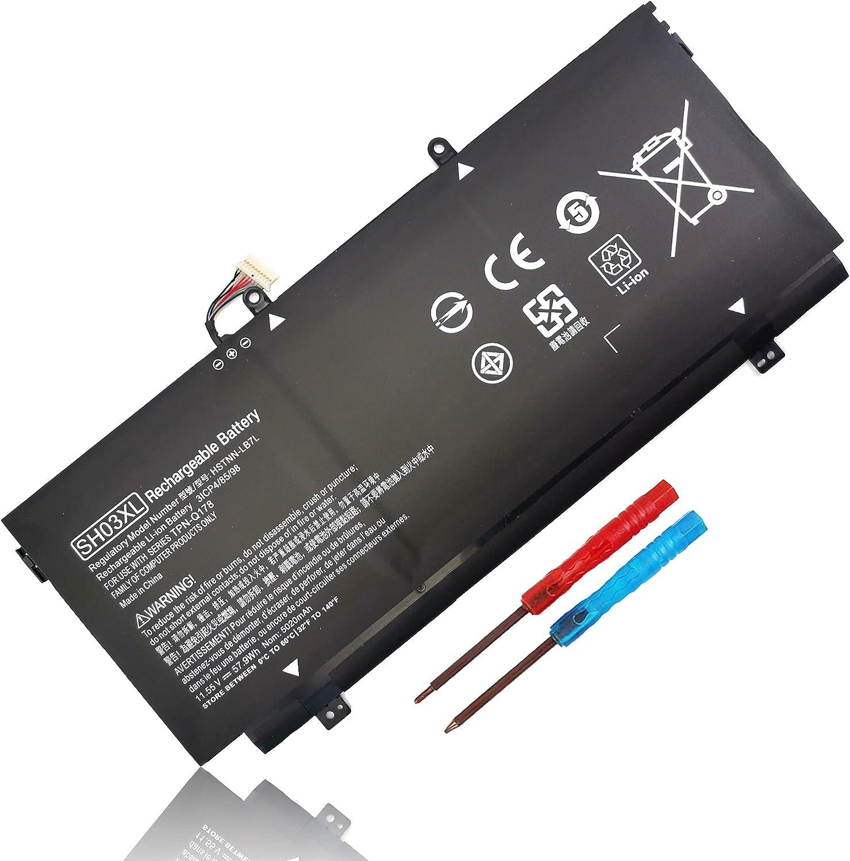 57.9Wh SH03XL 859356-855 TPN-Q178 Laptop Battery for HP HP Spectre X360 13-AC0XX 13-AC033DX 13- AC023DX 13-AC013DX 13-AC063DX 13-W063NR 13-W013DX 13T-AB000 13-AB001 13-AB099 859026-421 HSTNN-LB7L