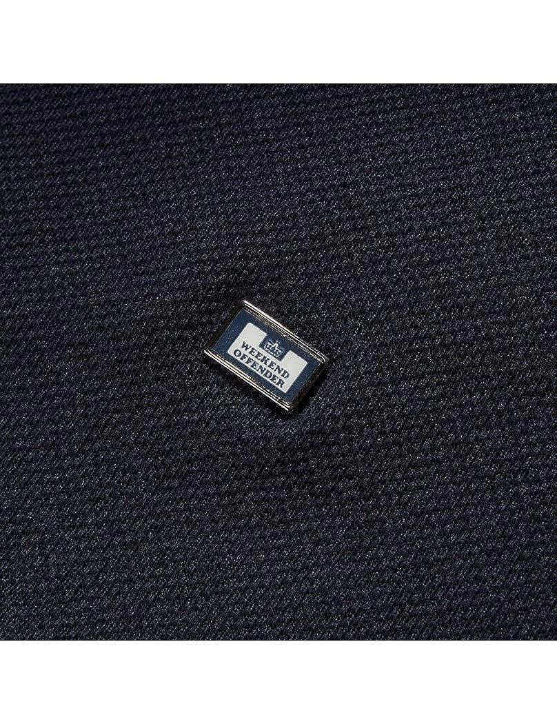Short Sleeve Polo Shirt POSS1805 Navy Weekend Offender