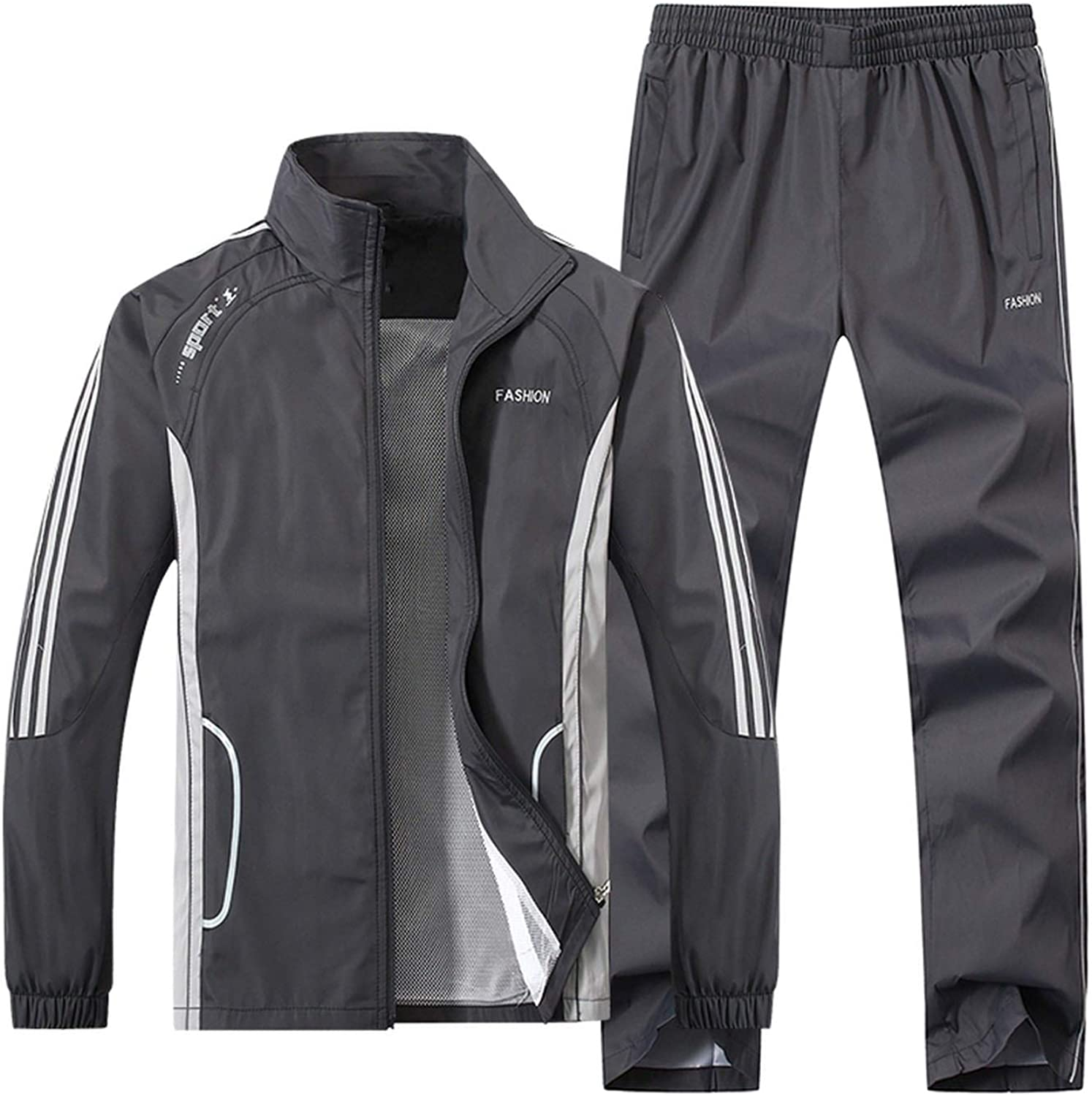 Spring Autumn Tracksuit Men Two Piece Clothing Sets Casual Track Suit Sportswear Sweatsuits YB-T268
