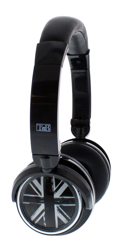 TnB CBLIVELD - Auriculares de diadema cerrados Bluetooth, negro: Amazon.es: Electrónica